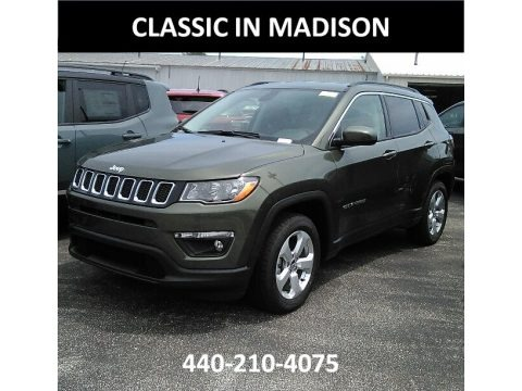 Olive Green Pearl 2017 Jeep Compass Latitude