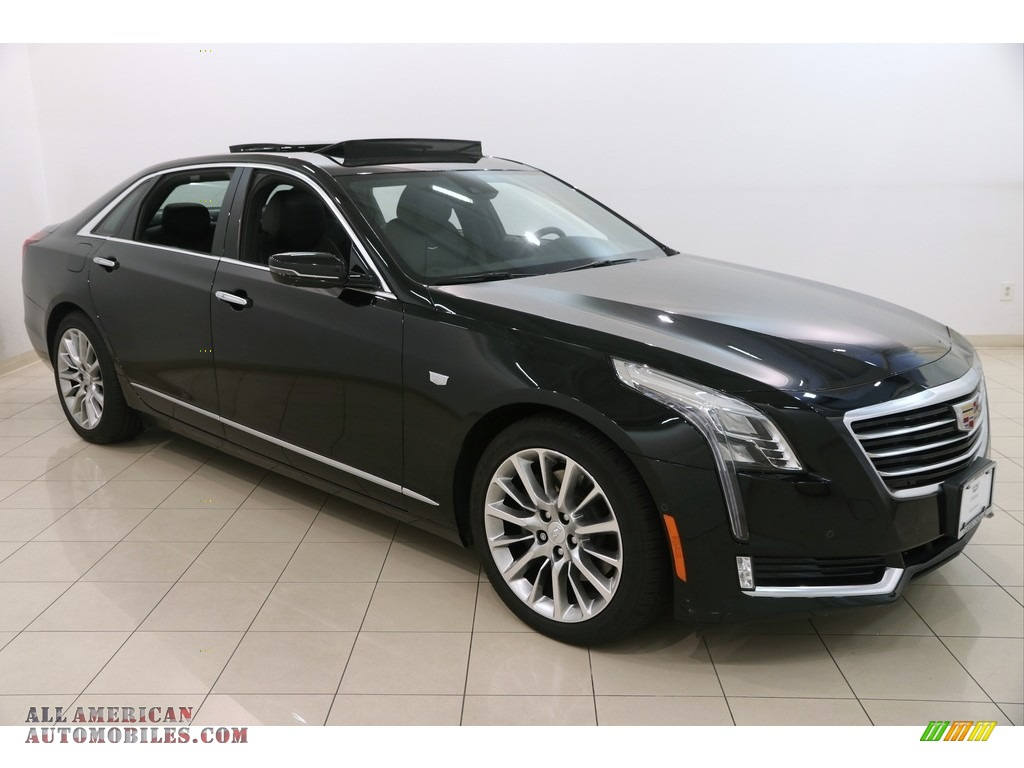 2017 cadillac ct6 3 0 turbo luxury awd sedan in black. Black Bedroom Furniture Sets. Home Design Ideas