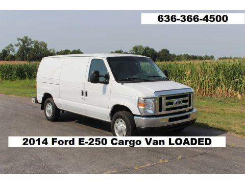 Oxford White 2014 Ford E-Series Van E250 Cargo Van