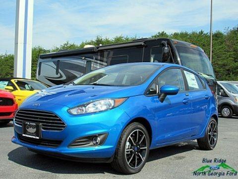Blue Candy 2017 Ford Fiesta SE Hatchback