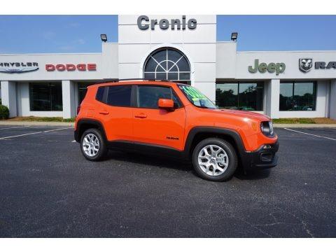 Omaha Orange 2017 Jeep Renegade Latitude