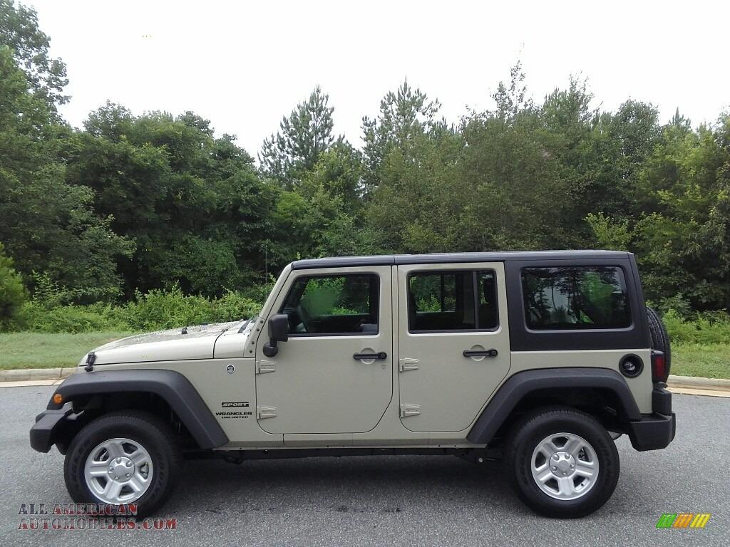 Jeep Wrangler For Sale North Carolina 2017 Jeep Wrangler Unlimited Sport 4x4 in Gobi - 700403 ...