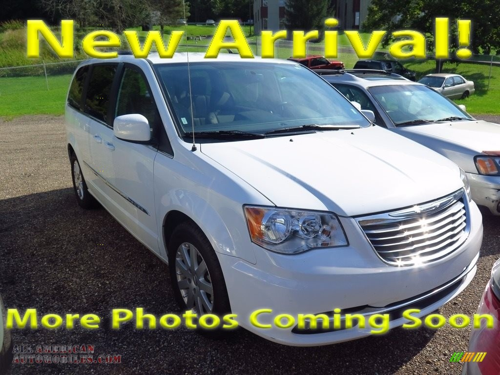 Bright White / Dark Frost Beige/Medium Frost Beige Chrysler Town & Country Touring