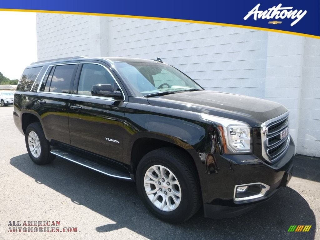 2016 gmc yukon slt 4wd in onyx black 460904 all american automobiles buy american cars for. Black Bedroom Furniture Sets. Home Design Ideas