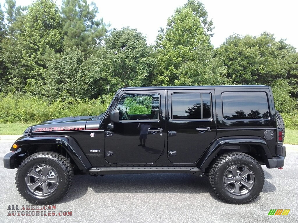 2017 jeep wrangler unlimited rubicon 4x4 in black 685023 all american automobiles buy. Black Bedroom Furniture Sets. Home Design Ideas
