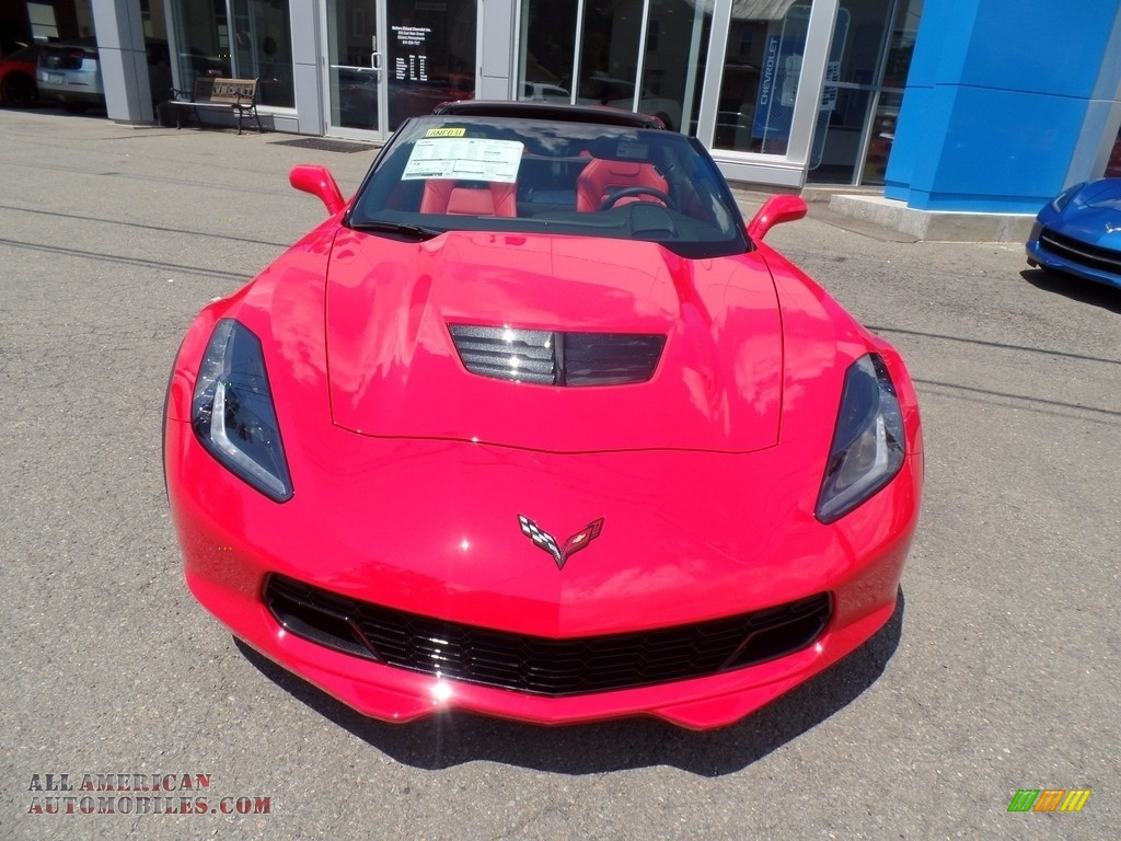 2018 Corvette Z06 Coupe - Torch Red / Adrenaline Red photo #2