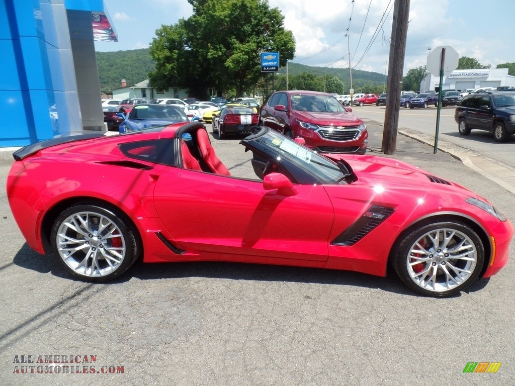 2018 Corvette Z06 Coupe - Torch Red / Adrenaline Red photo #4