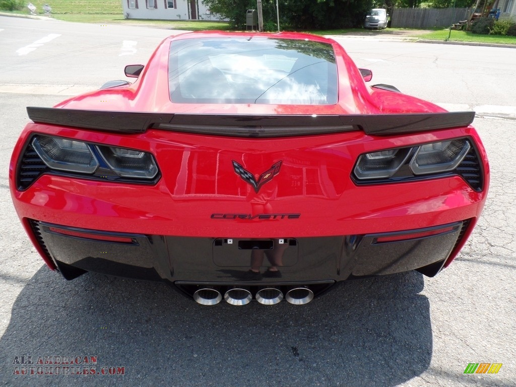 2018 Corvette Z06 Coupe - Torch Red / Adrenaline Red photo #12