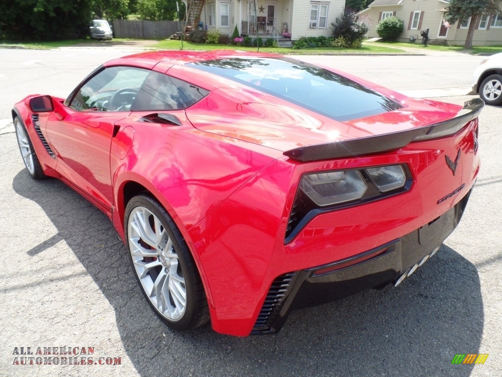2018 Corvette Z06 Coupe - Torch Red / Adrenaline Red photo #13