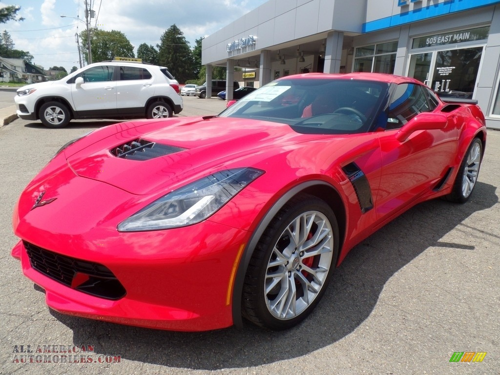 2018 Corvette Z06 Coupe - Torch Red / Adrenaline Red photo #16
