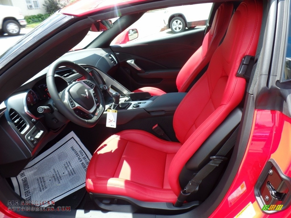 2018 Corvette Z06 Coupe - Torch Red / Adrenaline Red photo #21