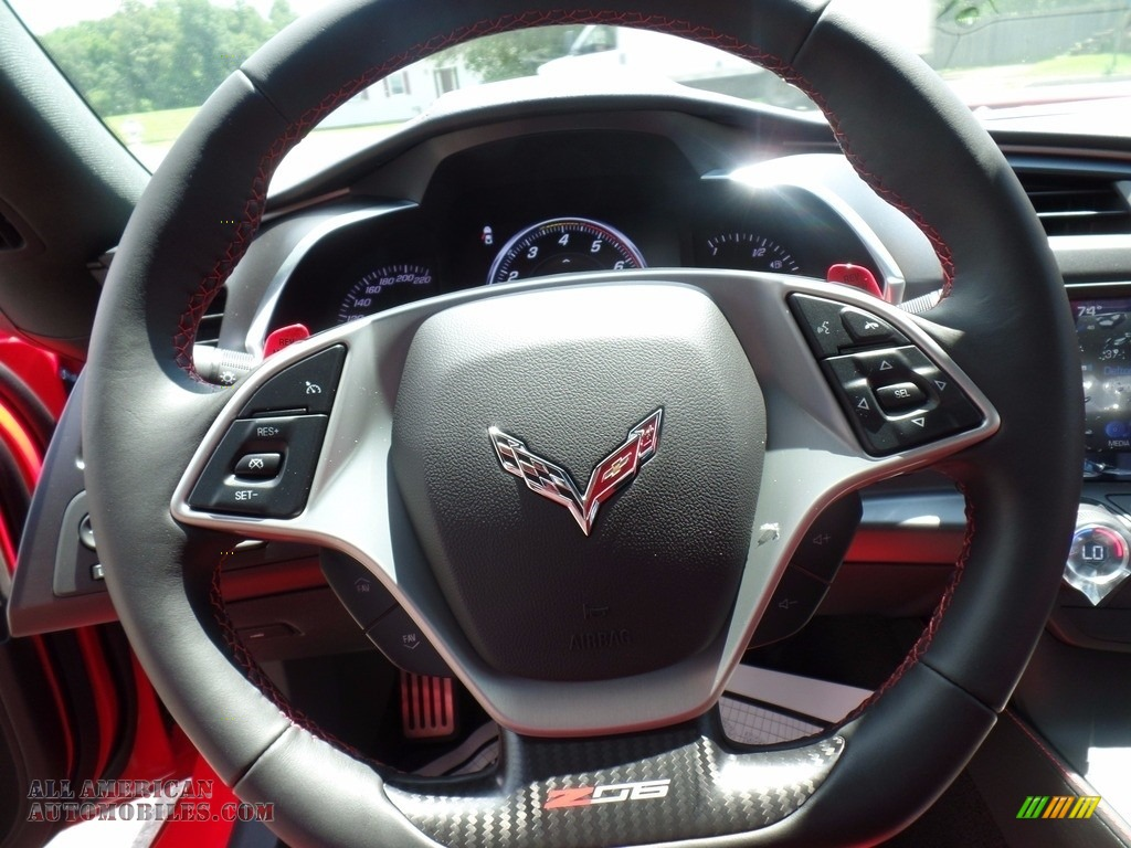 2018 Corvette Z06 Coupe - Torch Red / Adrenaline Red photo #24