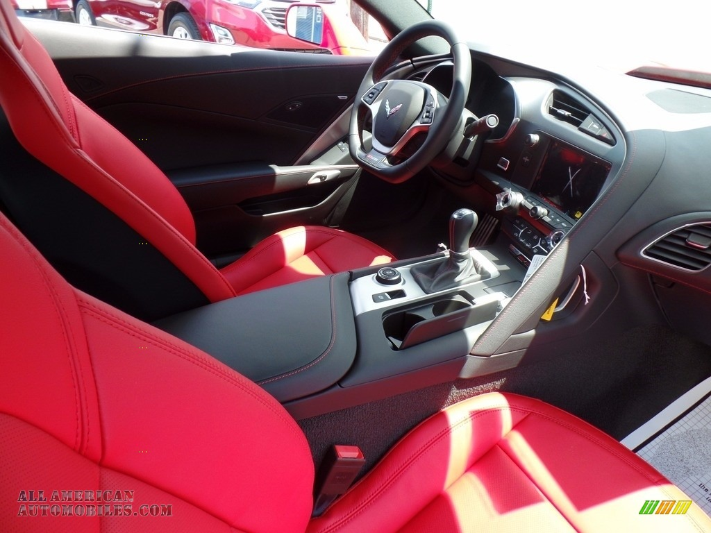 2018 Corvette Z06 Coupe - Torch Red / Adrenaline Red photo #43