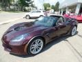 Chevrolet Corvette Z06 Coupe Black Rose Metallic photo #1