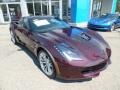 Chevrolet Corvette Z06 Coupe Black Rose Metallic photo #9