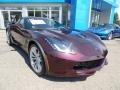 Chevrolet Corvette Z06 Coupe Black Rose Metallic photo #16