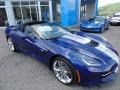Chevrolet Corvette Stingray Convertible Admiral Blue Metallic photo #2