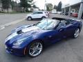 Chevrolet Corvette Stingray Convertible Admiral Blue Metallic photo #4