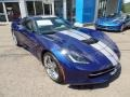 Chevrolet Corvette Stingray Convertible Admiral Blue Metallic photo #7