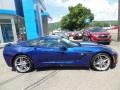 Chevrolet Corvette Stingray Convertible Admiral Blue Metallic photo #8