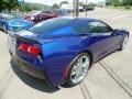 Chevrolet Corvette Stingray Convertible Admiral Blue Metallic photo #9
