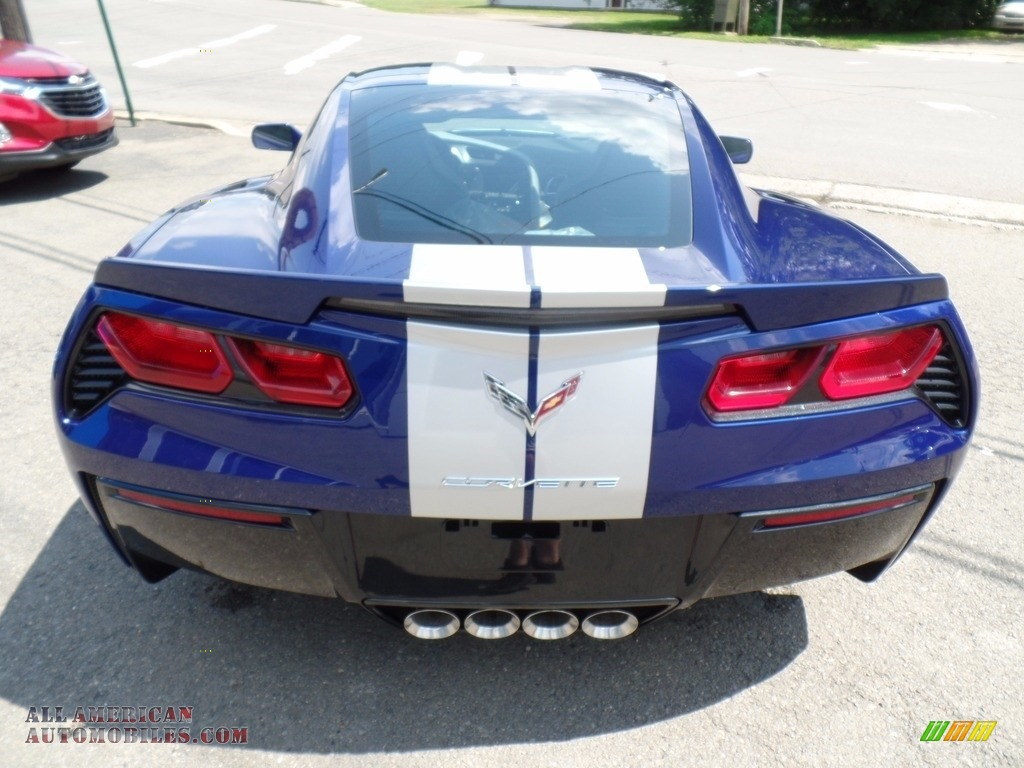 2018 Corvette Stingray Convertible - Admiral Blue Metallic / Gray photo #10