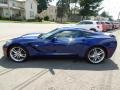 Chevrolet Corvette Stingray Convertible Admiral Blue Metallic photo #12