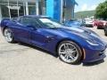 Chevrolet Corvette Stingray Convertible Admiral Blue Metallic photo #14