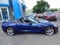 Chevrolet Corvette Stingray Convertible Admiral Blue Metallic photo #17