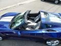 Chevrolet Corvette Stingray Convertible Admiral Blue Metallic photo #20