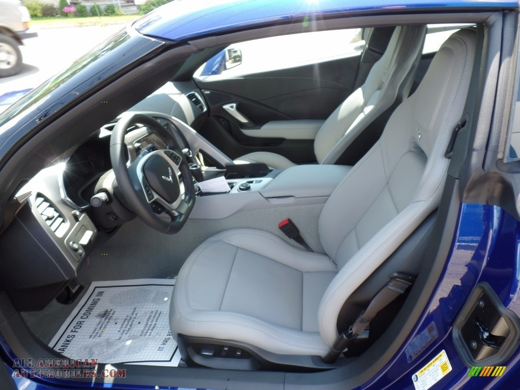2018 Corvette Stingray Convertible - Admiral Blue Metallic / Gray photo #25