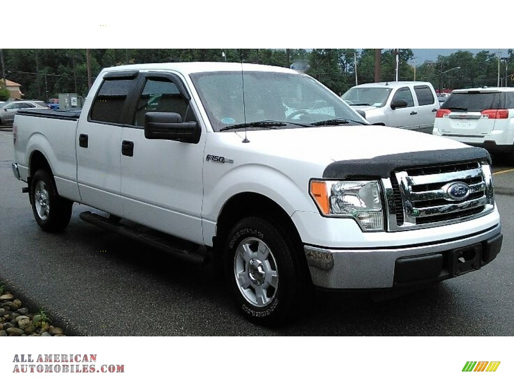 2010 ford f150 xlt supercrew in oxford white a56199 all american automobiles buy american. Black Bedroom Furniture Sets. Home Design Ideas