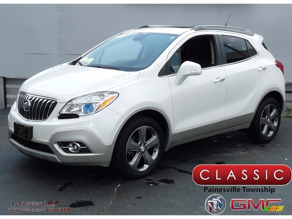2014 Buick Encore Convenience in White Pearl Tricoat ...
