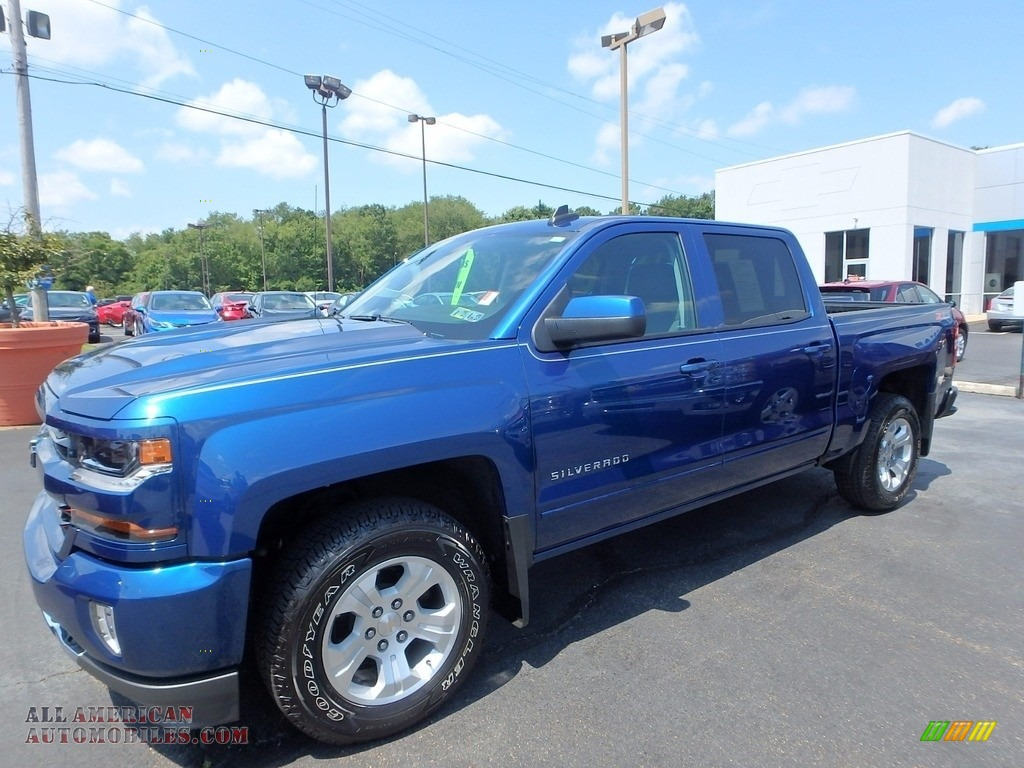 2017 chevrolet silverado 1500 lt crew cab 4x4 in deep ocean blue metallic 203852 all. Black Bedroom Furniture Sets. Home Design Ideas