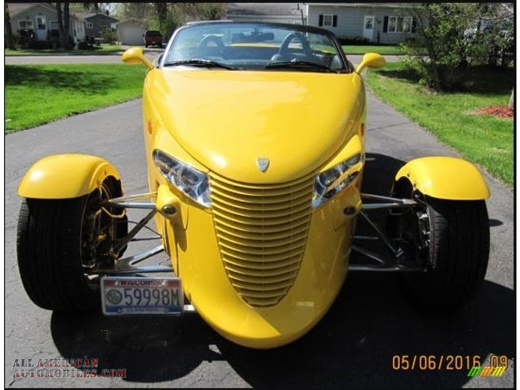 1999 Prowler Roadster - Prowler Yellow / Agate photo #1