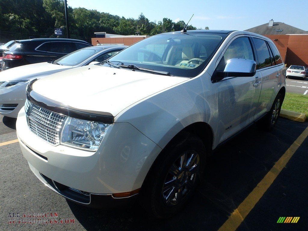 White Chocolate Tri Coat / Medium Camel Lincoln MKX AWD