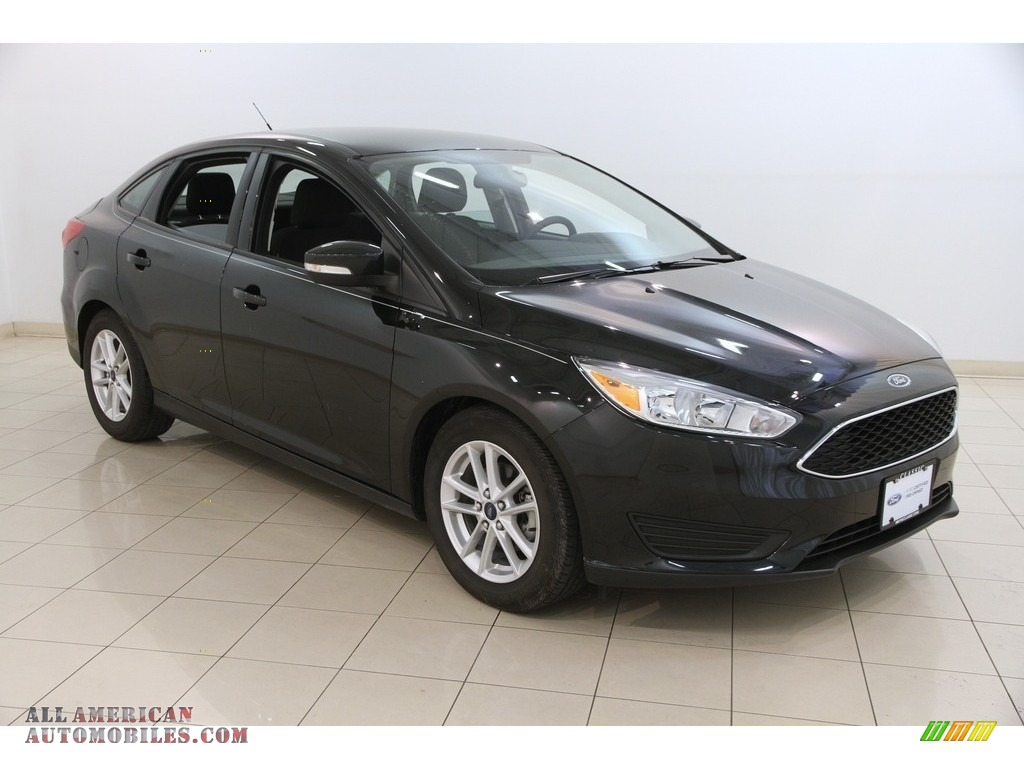 2012 Ford Focus For Sale >> 2015 Ford Focus SE Sedan in Tuxedo Black Metallic - 217007 | All American Automobiles - Buy ...