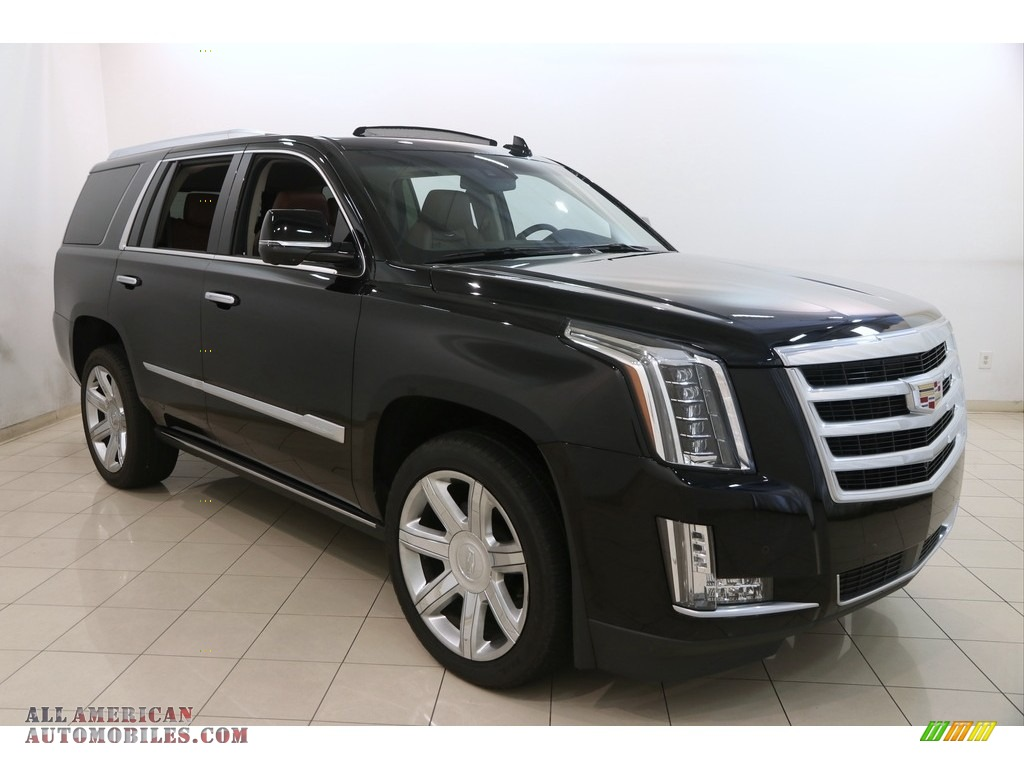 2016 Escalade Premium 4WD - Black Raven / Kona Brown/Jet Black photo #1