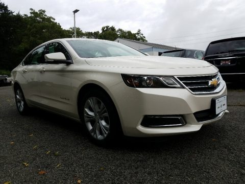 White Diamond Tricoat 2014 Chevrolet Impala LT