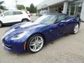 Chevrolet Corvette Stingray Convertible Admiral Blue Metallic photo #10