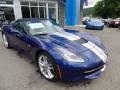 Chevrolet Corvette Stingray Convertible Admiral Blue Metallic photo #12