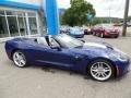 Chevrolet Corvette Stingray Convertible Admiral Blue Metallic photo #18