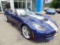 Chevrolet Corvette Stingray Convertible Admiral Blue Metallic photo #19