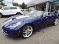 Chevrolet Corvette Stingray Convertible Admiral Blue Metallic photo #21