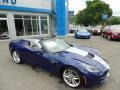 Chevrolet Corvette Stingray Convertible Admiral Blue Metallic photo #23