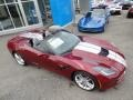 Chevrolet Corvette Stingray Convertible Long Beach Red Metallic Tintcoat photo #2