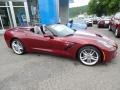 Chevrolet Corvette Stingray Convertible Long Beach Red Metallic Tintcoat photo #3
