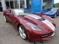 Chevrolet Corvette Stingray Convertible Long Beach Red Metallic Tintcoat photo #4