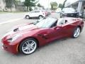 Chevrolet Corvette Stingray Convertible Long Beach Red Metallic Tintcoat photo #5