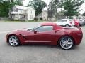 Chevrolet Corvette Stingray Convertible Long Beach Red Metallic Tintcoat photo #7